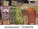 Fresh Vegetables Neatly Stacke...