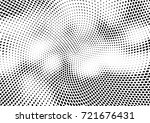 abstract halftone wave dotted... | Shutterstock .eps vector #721676431