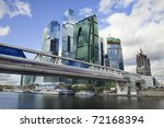 skyscrapers of the moscow... | Shutterstock . vector #72168394