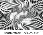 abstract halftone wave dotted... | Shutterstock .eps vector #721693519
