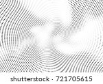 abstract halftone wave dotted... | Shutterstock .eps vector #721705615