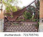 barcelona  spain   august 16 ...   Shutterstock . vector #721705741