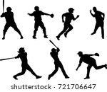 Baseball Silhouettes Collection ...