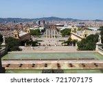 barcelona  spain   august 16 ...   Shutterstock . vector #721707175