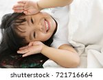 asian children cute or kid girl ... | Shutterstock . vector #721716664