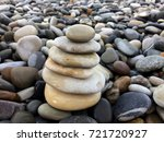 pebbles of the beach photo... | Shutterstock . vector #721720927