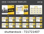 calendar 2019  desk calendar... | Shutterstock .eps vector #721721407