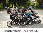 funny children sitting in... | Shutterstock . vector #721726237