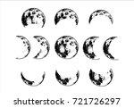 hand drawn vintage sketch set... | Shutterstock .eps vector #721726297
