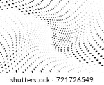 abstract halftone wave dotted... | Shutterstock .eps vector #721726549
