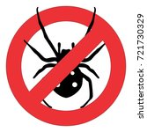 forbidden sign with a black...   Shutterstock .eps vector #721730329