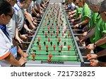 milan  italy july 01  2017 ... | Shutterstock . vector #721732825
