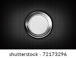 metal mesh grill with chrome... | Shutterstock . vector #72173296