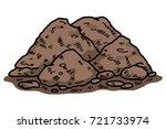 soil   cartoon vector and...   Shutterstock .eps vector #721733974