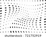 abstract halftone wave dotted... | Shutterstock .eps vector #721752919