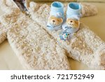 baby clothes for newborn. in... | Shutterstock . vector #721752949