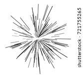 sun burst  star burst sunshine. ... | Shutterstock .eps vector #721755265