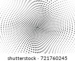 abstract halftone wave dotted... | Shutterstock .eps vector #721760245