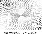abstract halftone wave dotted... | Shutterstock .eps vector #721760251