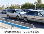 ulyanovsk  russia   september... | Shutterstock . vector #721761121