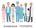 vector cartoon illustration of... | Shutterstock .eps vector #721762951