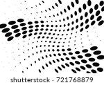 abstract halftone wave dotted... | Shutterstock .eps vector #721768879
