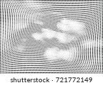 abstract halftone wave dotted... | Shutterstock .eps vector #721772149