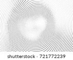 abstract halftone wave dotted... | Shutterstock .eps vector #721772239