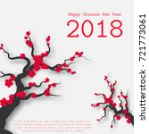 Chinese New Year Card With Plum ...