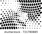 abstract halftone wave dotted... | Shutterstock .eps vector #721780885