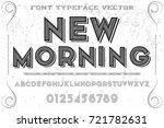 script handcrafted vector...   Shutterstock .eps vector #721782631