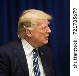 new york  usa   sep 21  2017 ... | Shutterstock . vector #721785679