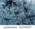 festive christmas glittery... | Shutterstock . vector #721795627