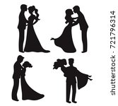 Set Of Vector Silhouettes....