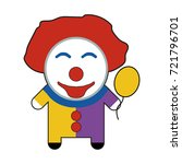 profession character clown.... | Shutterstock .eps vector #721796701