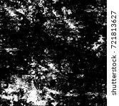 grunge black and white seamless ... | Shutterstock . vector #721813627