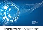 vector abstract business design ... | Shutterstock .eps vector #721814809