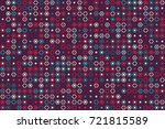 geometric pattern design  | Shutterstock .eps vector #721815589
