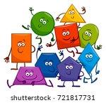 cartoon vector illustration of... | Shutterstock .eps vector #721817731