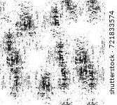 grunge black and white seamless ... | Shutterstock . vector #721833574