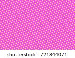 Pink Yellow Dotted Halftone...