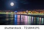 Night View Of Nice  Cote D'azu...