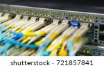 optical switch and colorfull fc ... | Shutterstock . vector #721857841