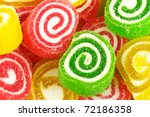 close up of colorful candy ... | Shutterstock . vector #72186358