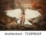 A Beautiful White Archangel...