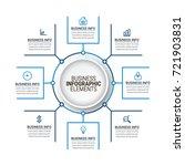 modern timeline infographics   Shutterstock .eps vector #721903831