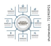 modern timeline infographics   Shutterstock .eps vector #721903921