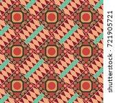 geometrical abstract tiles... | Shutterstock . vector #721905721