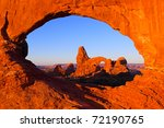 Sunrise On Arches In Arches...