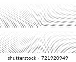 abstract halftone dotted... | Shutterstock .eps vector #721920949